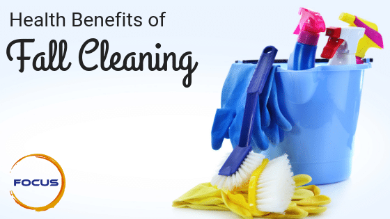 fall cleaning health benefits